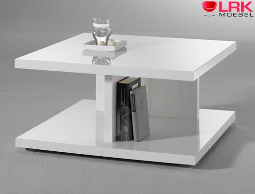 Moderner Couchtisch Beistelltisch Tisch mit TFuß in