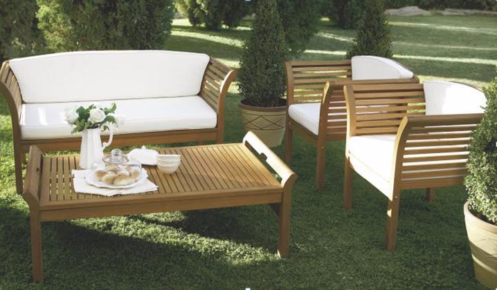 lounge set malaga fsc balkonset gartenset garten terrasse. Black Bedroom Furniture Sets. Home Design Ideas
