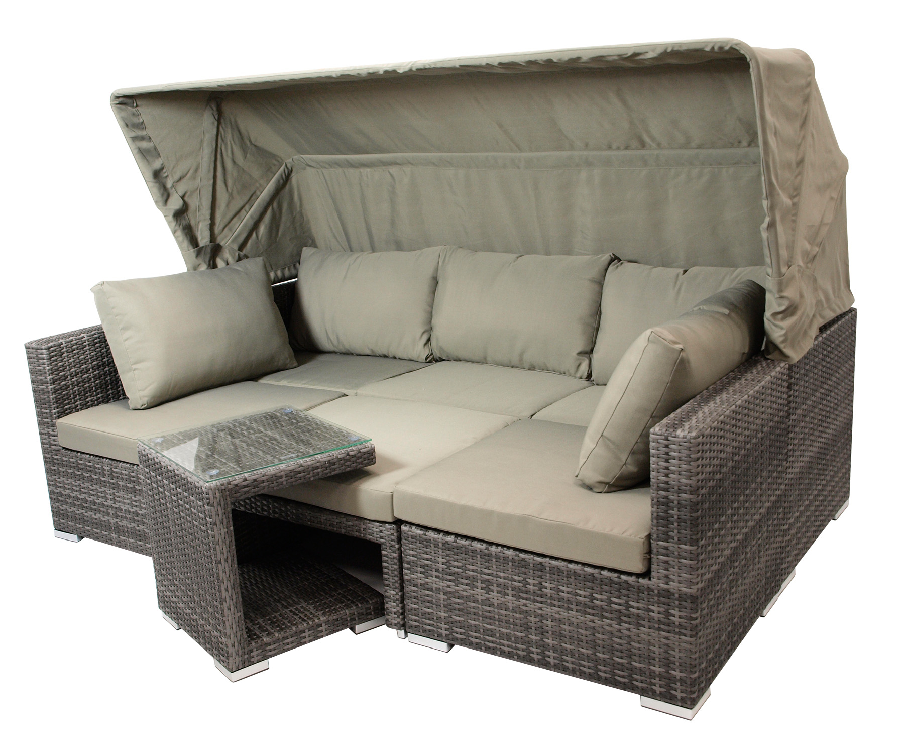 Loungeset Manacor 5 Pieces Complete Set Garden Set Lounge