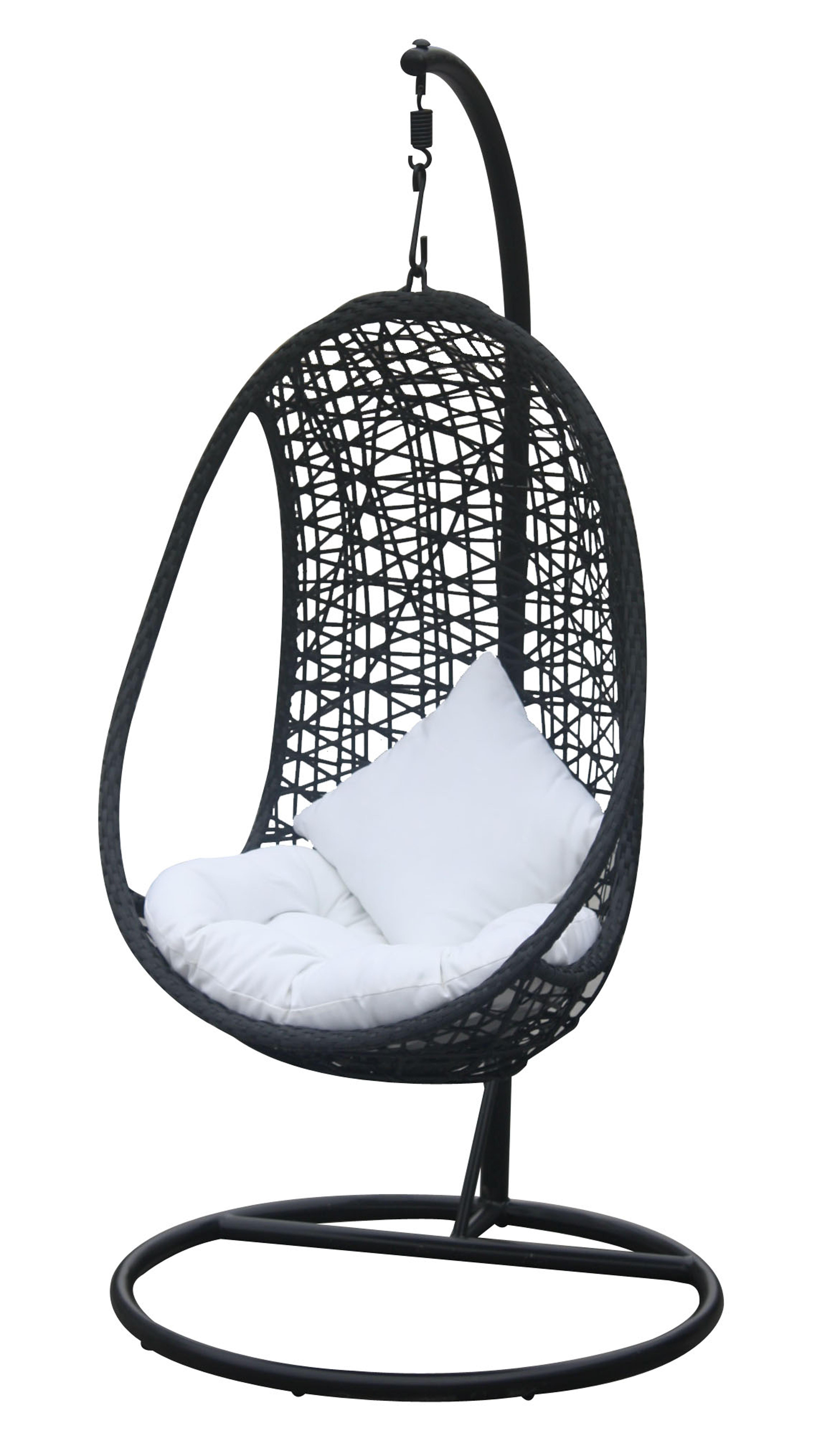 h ngekorb inca h ngeliege garten balkon terrasse. Black Bedroom Furniture Sets. Home Design Ideas
