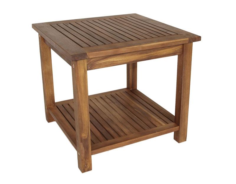 beistelltisch st vincent fsc gartentisch garten terrasse balkon tisch m bel neu ebay. Black Bedroom Furniture Sets. Home Design Ideas